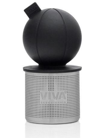 Ситечко для заваривания чая Infusion Поплавок, 8 см, черное V77658 Viva Scandinavia ситечко для заваривания чая infusion 6 4х9 3 см красное v29125 viva scandinavia