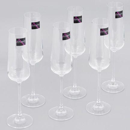Набор бокалов для шампанского (270 мл), 6 шт. 5LS04CP0906G0000 Lucaris
