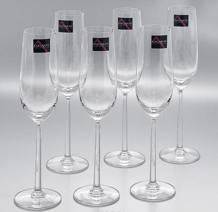 Набор бокалов для шампанского (250 мл), 6 шт. 5LS03CP0906G0000 Lucaris