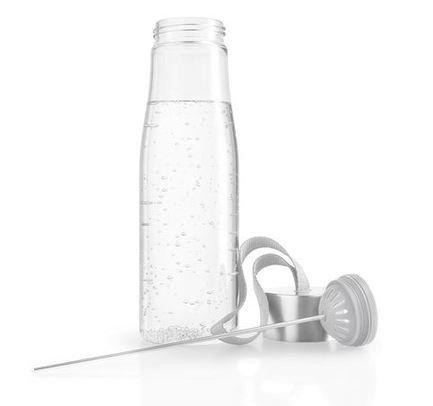 Бутылка для воды MyFlavour (0.75 л), 8х26 см, светло-серая 567501 Eva Solo