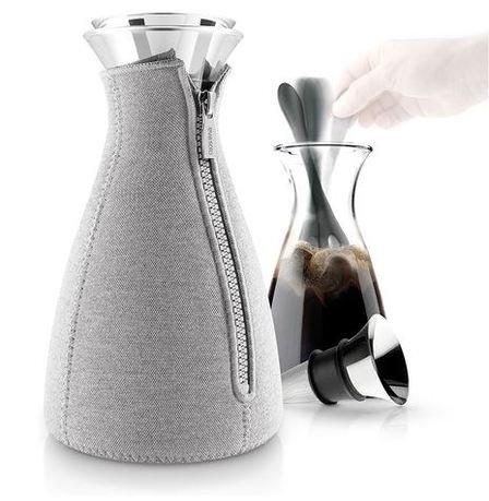 Кофейник Cafe Solo в неопреновом чехле (1.0 л), светло-серый 567669 Eva