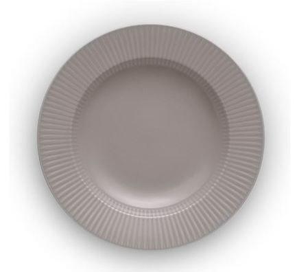 Тарелка суповая Legio Nova, 25 см, серая 887324 Eva Solo
