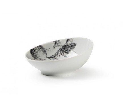 Фото - Салатник Black Apple, скошенный край (0.17 л), 12.8х5.5 см 641617 2241 Tunisie Porcelaine блюдо black apple 40 см 550640 2241 tunisie porcelaine