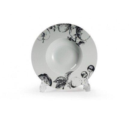Тарелка глубокая Black Apple (0.2 л), 23.1 см 830223 2241 Tunisie Porcelaine