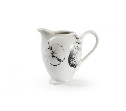 Сливочник Black Apple (220 мл), 7х10.8 см 643022 2241 Tunisie Porcelaine сливочник zina 30 мл 3 2х4 5 см 013003 tunisie porcelaine