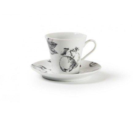 Фото - Чайная пара Black Apple (210 мл) 733521 2241 Tunisie Porcelaine кофейная пара tiffany or 110 мл 6103510 1785 tunisie porcelaine