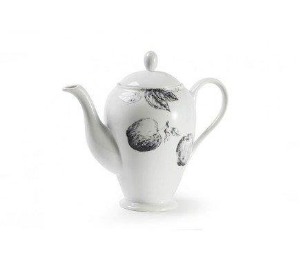 Фото - Чайник Black Apple (1.4 л), 9.5х23.5 см 642914 2241 Tunisie Porcelaine блюдо black apple 40 см 550640 2241 tunisie porcelaine