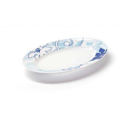 Фото - Блюдо овальное маленькое Blue sky, 23 см 531824 2230 Tunisie Porcelaine блюдо презентационное blue sky 32 см 580632 0897 tunisie porcelaine