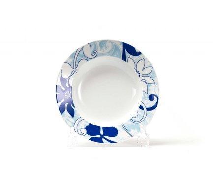 Набор глубоких тарелок Blue sky, 22 см, 6 шт 539124 2230 Tunisie Porcelaine цена 2017