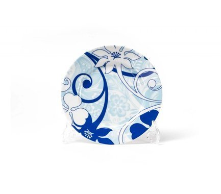 Фото - Набор десертных тарелок Blue sky, 19 см, 6 шт 539114 2230 Tunisie Porcelaine набор тарелок лунтик 6 шт
