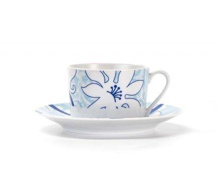 Фото - Набор чайных пар Blue sky (220 мл), 12 пр. 539506 2230 Tunisie Porcelaine блюдо презентационное blue sky 32 см 580632 0897 tunisie porcelaine