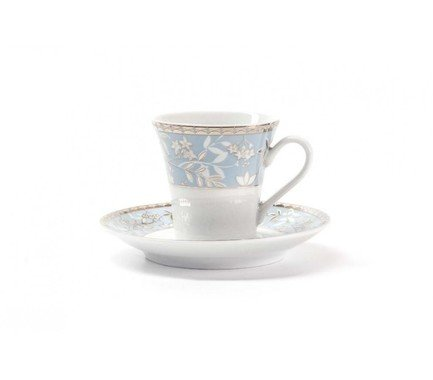 Набор кофейных пар Classe (100 мл), 12 пр 739606 1596 Tunisie Porcelaine lsa набор кофейных пар fir metallic 4 предмета 100 мл белый золотистый