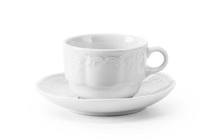 Чайная пара Didon (210 мл), 9х7 см 093521 Tunisie Porcelaine сливочник didon 30 мл 4х3 см 093003 tunisie porcelaine