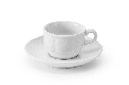 Кофейная пара Didon (80 мл), 6.5х5 см 093508 Tunisie Porcelaine сливочник zina 30 мл 3 2х4 5 см 013003 tunisie porcelaine