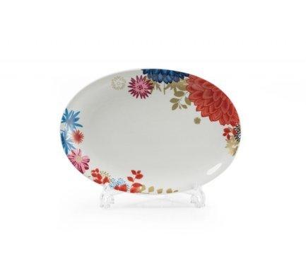 Блюдо для рыбы Monalisa Ilionor, 30 см 005030 2227 Tunisie Porcelaine набор плоских тарелок monalisa ilionor 27 см 6 шт 729006 2227 tunisie porcelaine
