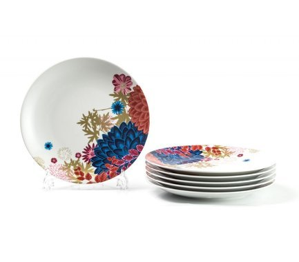 Набор плоских тарелок Monalisa Ilionor, 27 см, 6 шт 729006 2227 Tunisie Porcelaine набор плоских тарелок monalisa ilionor 27 см 6 шт 729006 2227 tunisie porcelaine