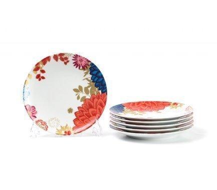 Фото - Набор тарелок Monalisa Ilionor, 21 см, 6 шт 729106 2227 Tunisie Porcelaine набор тарелок лунтик 6 шт