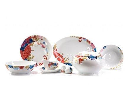 Сервиз столовый Monalisa Ilionor, 25 пр 729025 2227 Tunisie Porcelaine набор плоских тарелок monalisa ilionor 27 см 6 шт 729006 2227 tunisie porcelaine