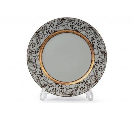 Фото - Набор тарелок Mimosa Lierre Or, 27 см, 6 шт. 539116 947 Tunisie Porcelaine набор тарелок лунтик 6 шт