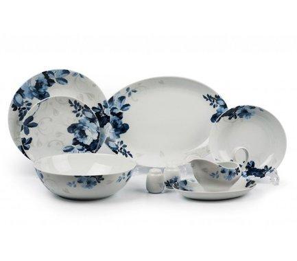 Сервиз столовый Monalisa Jardin Bleu, 24 пр 729024 1780 Tunisie Porcelaine