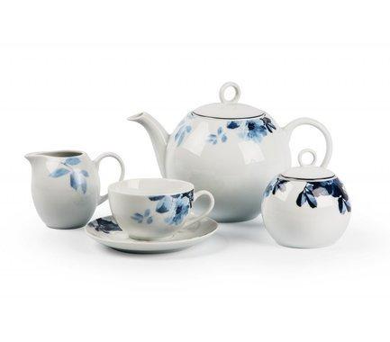 Сервиз чайный Monalisa Jardin Bleu, 15 пр 559511 1780 Tunisie Porcelaine