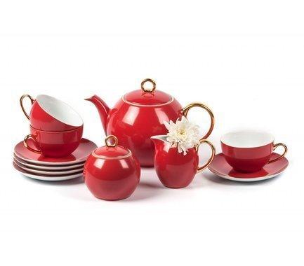 Сервиз чайный Monalisa Rainbow Or, 15 пр 559511 3125 Tunisie Porcelaine
