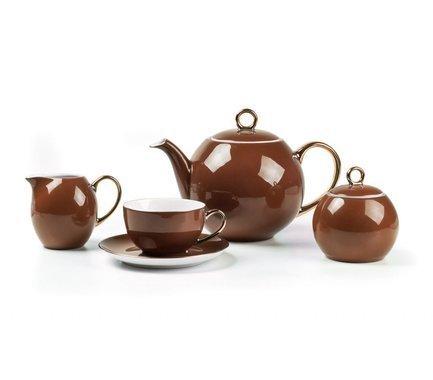 Фото - Сервиз чайный Monalisa Rainbow Or, 15 пр 559511 3126 Tunisie Porcelaine набор тарелок глубоких monalisa rainbow or 22 см 6 шт 559105 3126 tunisie porcelaine