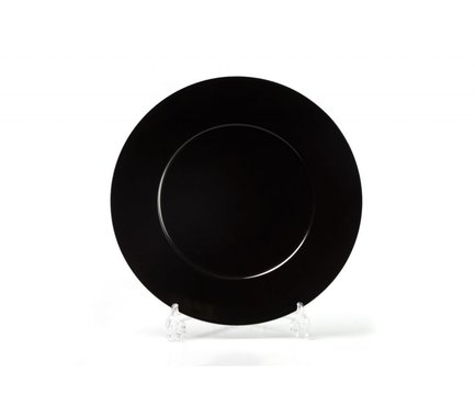 Блюдо круглое Putoisage Noir, 31 см 830631 3063 Tunisie Porcelaine