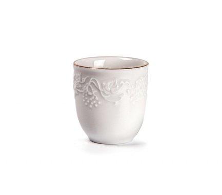 Стакан для зубочисток Vendange Filet Or 694538 1009 Tunisie Porcelaine чайник vendange 1 л 693110 tunisie porcelaine