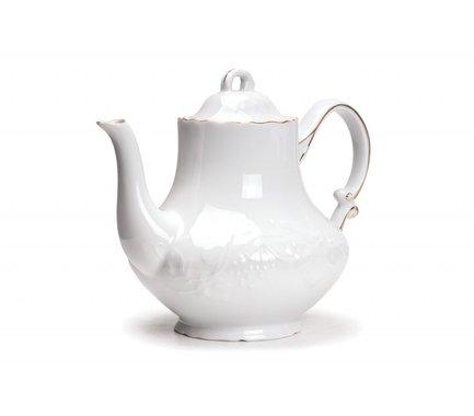 Чайник Vendange Filet Or (1 л) 693110 1009 Tunisie Porcelaine чайник vendange filet platine 1 л 693110 0019 tunisie porcelaine