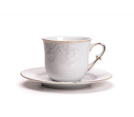 Набор чайных пар Vendange Filet Or (200 мл), 12 пр