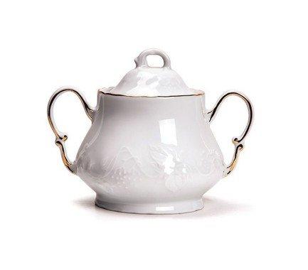Сахарница Vendange Filet Or (300 мл) 693230 1009 Tunisie Porcelaine чайник vendange 1 л 693110 tunisie porcelaine