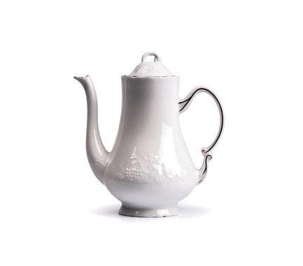 Кофейник Vendange Filet Platine (1.3 л) 692913 0019 Tunisie Porcelaine чайник vendange filet platine 1 л 693110 0019 tunisie porcelaine