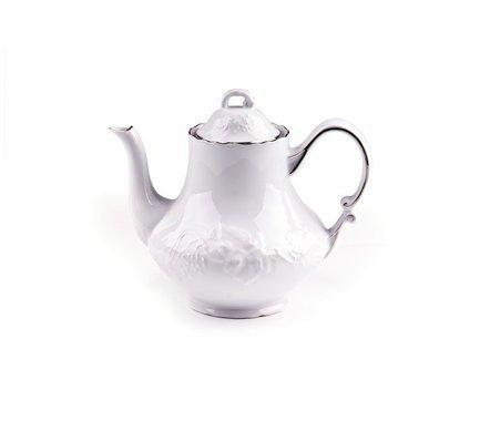 Чайник Vendange Filet Platine (1 л) 693110 0019 Tunisie Porcelaine чайник vendange filet platine 1 л 693110 0019 tunisie porcelaine