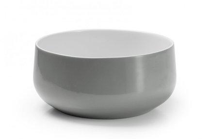 Салатник Yaka Gris, 25 см 881625 3064 Tunisie Porcelaine салатник yaka 25 см 881625 tunisie porcelaine
