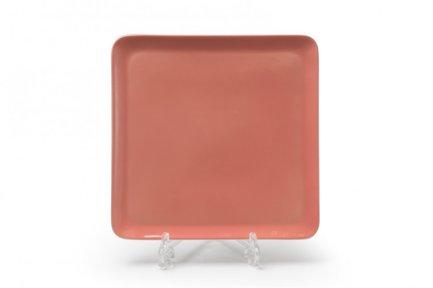 Тарелка квадратная Yaka Rose, 25х25 см 880325 2228 Tunisie Porcelaine салатник yaka 25 см 881625 tunisie porcelaine