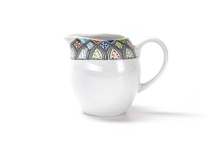 Сливочник Lys Восточный декор (240 мл), 7х8.5 см 553024 2094 Tunisie Porcelaine сливочник zina 30 мл 3 2х4 5 см 013003 tunisie porcelaine