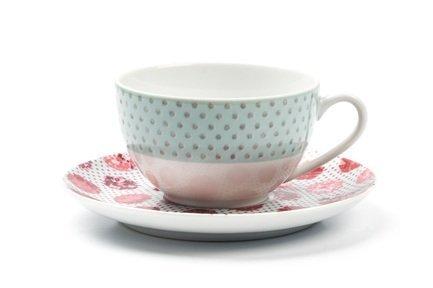 Фото - Чайная пара Isis Малина (200 мл) 613520 2255 Tunisie Porcelaine кофейная пара tiffany or 110 мл 6103510 1785 tunisie porcelaine