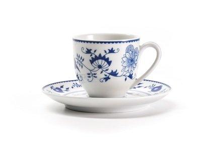 цена Кофейная пара Ognion Bleu (100 мл) 613510 1313 Tunisie Porcelaine онлайн в 2017 году