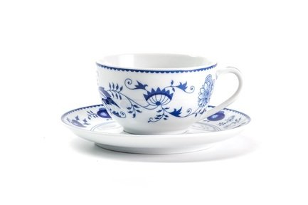 Чайная пара Ognion Bleu (200 мл) 613520 1313 Tunisie Porcelaine