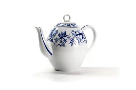 Чайник Ognion Bleu (1.7 л) 552917 1313 Tunisie Porcelaine чайник заварочный 1 7 л la rose des sables синий лук 552917 1313