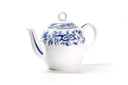 Чайник Ognion Bleu (1 л) 553110 1313 Tunisie Porcelaine чайник заварочный 1 7 л la rose des sables синий лук 552917 1313