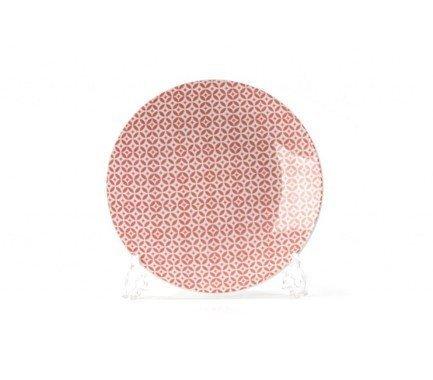 Тарелка Розовый Витон, 21 см 720121 2278 Tunisie Porcelaine x7 plus