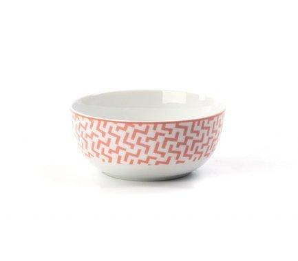 Салатник Розовый лабиринт, 13 см 553913 2275 Tunisie Porcelaine