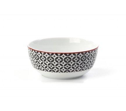 Салатник Черный Витон, 13 см 553913 2280 Tunisie Porcelaine
