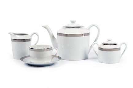 Сервиз чайный Fast Platine, 27 пр 5309518 1753 Tunisie Porcelaine
