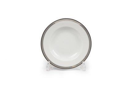 Тарелка глубокая Fast Platine, 22 см 5300222 1753 Tunisie Porcelaine