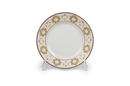Тарелка десертная Riad Or, 22 см 5300122 1853 Tunisie Porcelaine тарелка десертная tiffany or 22 см 5300122 1785 tunisie porcelaine
