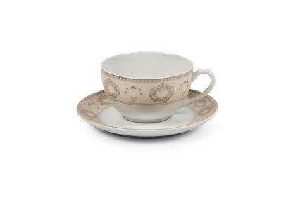 Фото - Чайная пара Riad Or (220 мл) 6103520 1853 Tunisie Porcelaine кофейная пара tiffany or 110 мл 6103510 1785 tunisie porcelaine