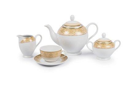 Сервиз чайный Tiffany Or, 27 пр 6409515 1785 Tunisie Porcelaine